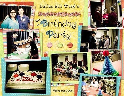 unBirthday Party (D6 Ward) - Feb 09