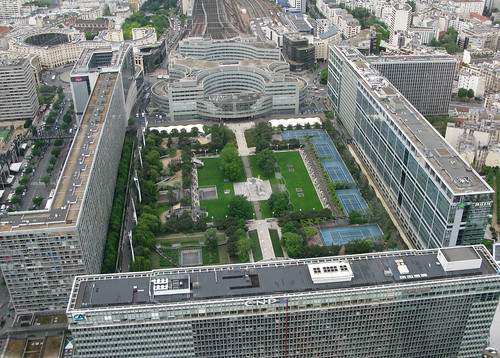 Jardin Atlantique from above