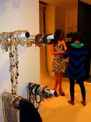 Chung och modellen från Belgien