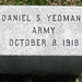 Daniel S. Yeomans Army October 8, 1918