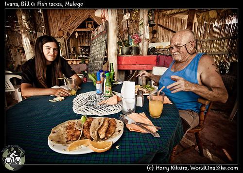 Ivana, Bill & Fish tacos, Mulege por exposedplanet.
