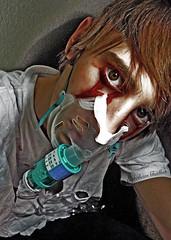 Luctus (EstebanShallow) Tags: portrait libertad freedom blood eyes retrato oxygen cry sangre llorar oxgeno estebashallow