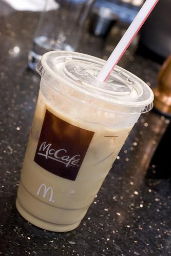 McCafe Iced Latte