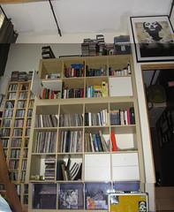 bookshelf May 2009 (damianhade) Tags: records ikea jake jane books doe cds bannon expedit