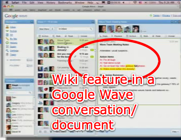 YouTube - Google Wave Developer Preview at Google I/O 2009