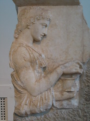 Funerary Relief (hewy) Tags: travel greece ancientgreece artrelief