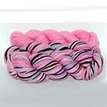 Pink Topaz  8.5 oz.  BFL Aran Weight  plus 2.2 oz. trim