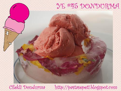 Cilekli Dondurma - Pasta Sepeti
