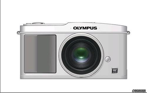 Olympus new m4/3 正面圖?