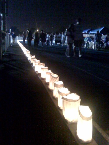 Relay For Life ...  Every candle has a name