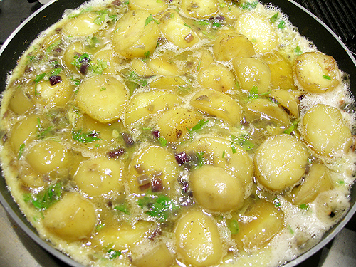 Tortilla de patatas (西班牙馬鈴薯蛋餅)-090608