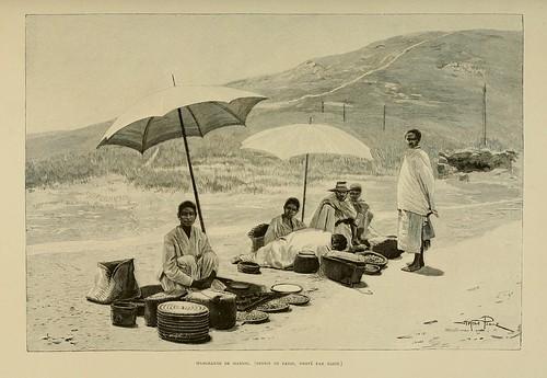 020-Vendedores de mandioca-Madagascar finales del siglo XIX