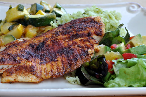 Spice Rubbed Tilapia for your New years Resolutions!