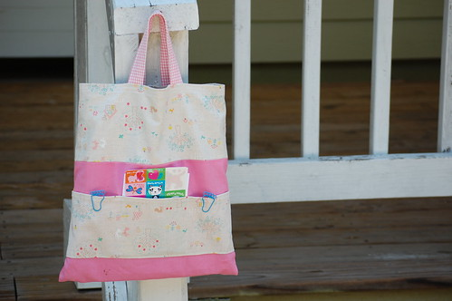 crayon/coloring book bag by you.
