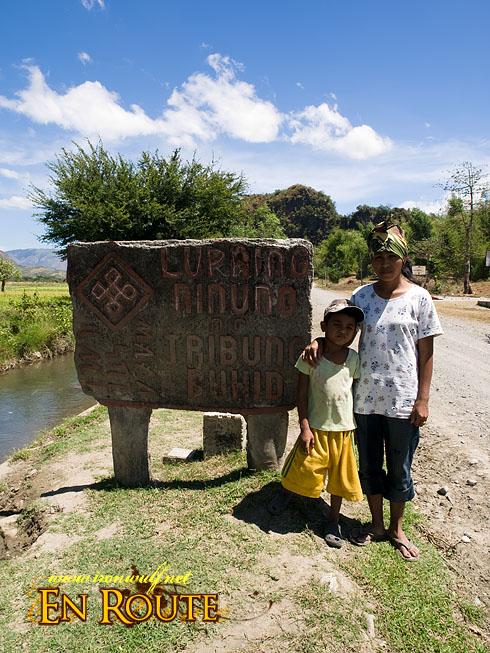 Buhid Mangyan Signage