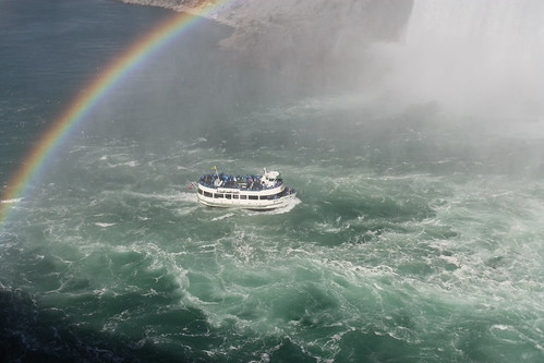 The famous ride into Niagara