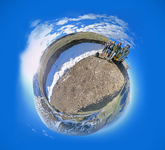 Little Planet (shotgun_mario) Tags: world wood railroad urban panorama brick rot abandoned industry rooftop rotting stone danger rural crust lost insane dangerous garbage globe rust colorado iron peeling industrial factory little decay ghost extreme cement perspective rusty warp adventure drain warehouse forgotten brewery rusted bubble planet co unknown crumble peel exploration asylum crusty decaying crumbling ue drains tannery urbex gilman uer