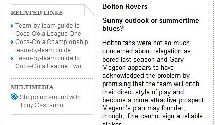 Breaking News: The Times announce that Bolton & Blackburn are merging!