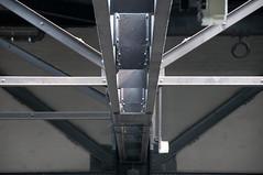 Girders (beechlights) Tags: roof gallery artgallery tatemodern metalwork girders bankside banksidepowerstation colvilleslimited colvillesltd colvilles
