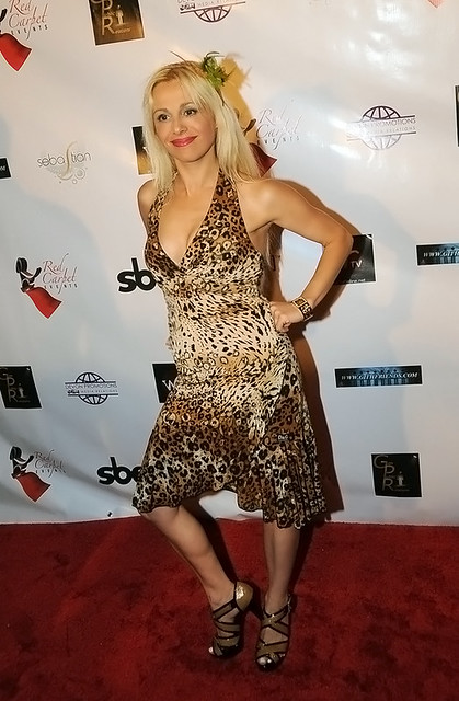 Socialite Sabrina A. Parisi hits Hollywood by Triciabel