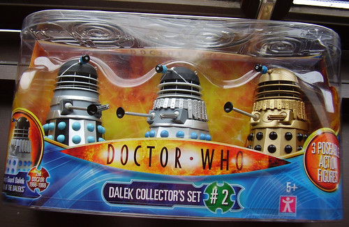 DR WHO - Dalek Collector's Set No. 2