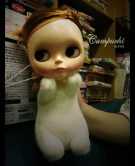 Campbell + Puchi (TURBOW) Tags: bunny doll pd blythe neo campbell aa puchi primadolly adorableaubrey pungtou