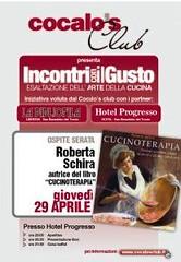 Cucinoterapia - San Benedetto del Tronto (AP) - 29 aprile 2010