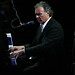 Zachary Richard starts out on piano... (Photo by Jef Jaisun)