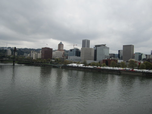 Portland over the river