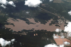 Lake Rodemacher, LA (zeesstof) Tags: lake canada louisiana aerial boyce windowseatplease canon7d canon18135is lakerodemacher zeesstof