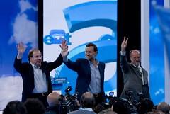 Rajoy, Herrera y De la Riva