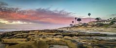 La Jolla Sunset (moreno1024) Tags: sunset sky panorama sun pool la nikon san sandiego pano tide diego lajolla panoramic tidepool hdr highdynamicrange jolla panoramics nikond3200 d3200