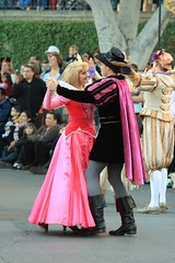 A Christmas Fantasy: Prince Phillip, Princess Aurora (armadillo444) Tags: christmas princess disneyland parade aurora sleepingbeauty princephillip christmasfantasyparade