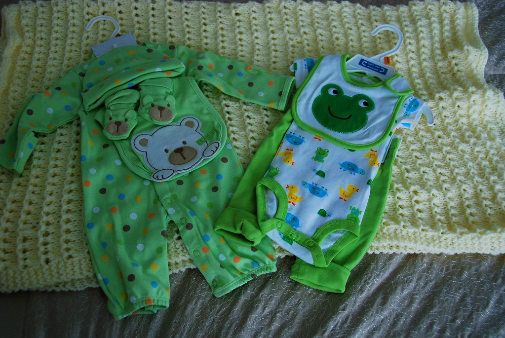 Baby stuff for...my baby.  My...baby. Holy crap.