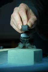 experiments with liquid nitrogen (peletiah) Tags: vienna wien 50mm experiments nikon levitation magnets nikkor magnet liquidnitrogen wolfram superconductor schweben cryo d40 14g metalab lowtemperature