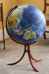 Globe with stand (David Burwell)