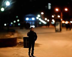 Boston Bokeh (ChyLn) Tags: bostoncommons cs photomerge onthephone d300 noctnikkor bokehbokeh 58f12 reduceddof boylstontstop