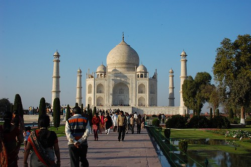the Taj Mahal!