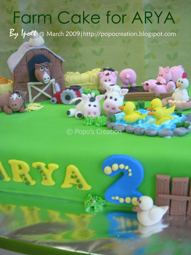 Farm Cake for Arya