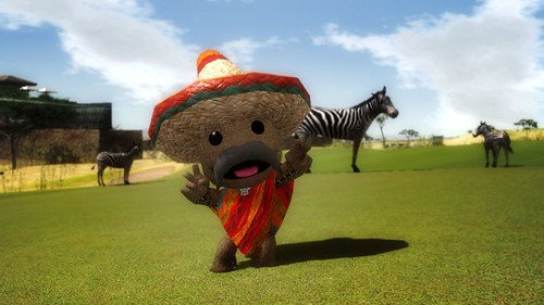 Hot Shots Golf: Out of Bounds - LittleBigPlanet Sackboy