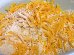 Cheese and Dry Ingredients
