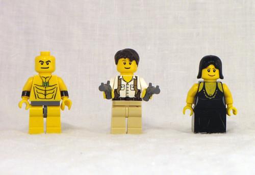 The Mummy custom minifigs