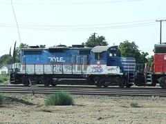 SJVR (Kyle) 2036, Bakersfield CA (AA654) Tags: kyle bakersfield emd gp20 sjvr