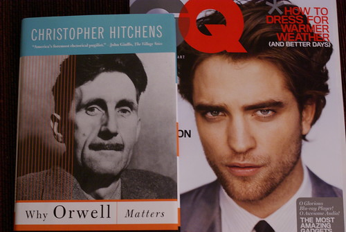 Orwell vs Pattinson