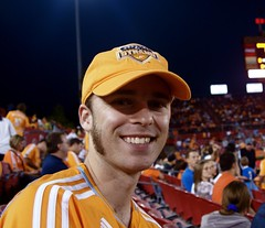 Nick at the Dynamo Season Opener