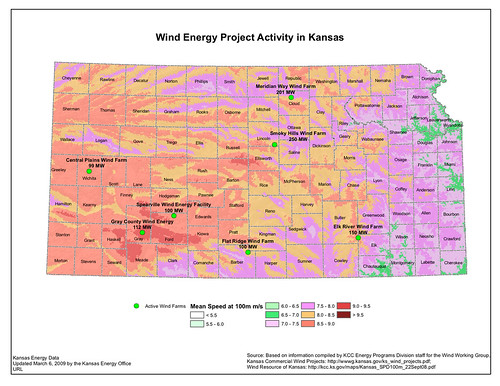 Kansas And Iowa  Comparing Wind Development  The Climate