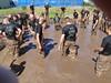 After Mud Run Fun in the Mud Pit (Mr. Muddy Suitman) Tags: march run 2009 bigsurmudrun marchmudruns
