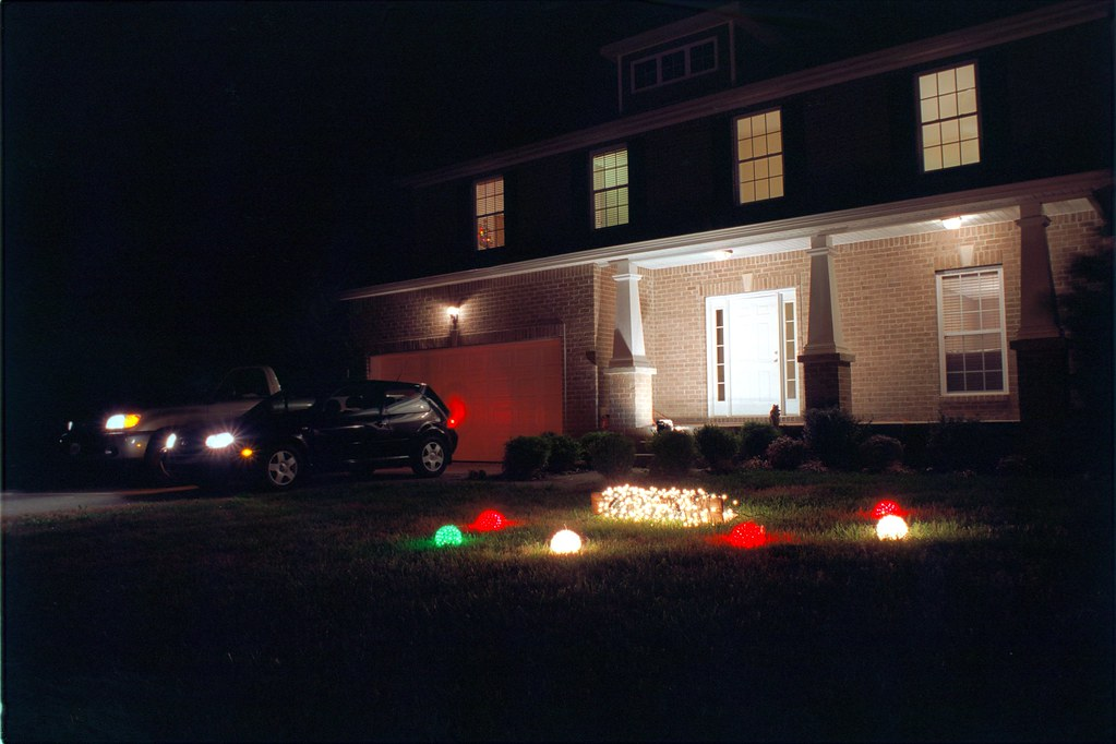 Electrified Earth Hour 2009.  Keeping the lights on ALL NIGHT LONG!