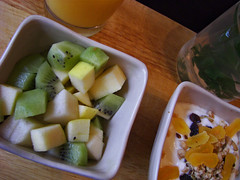 Food project 44 - Kiwi, pear and apple breakfast