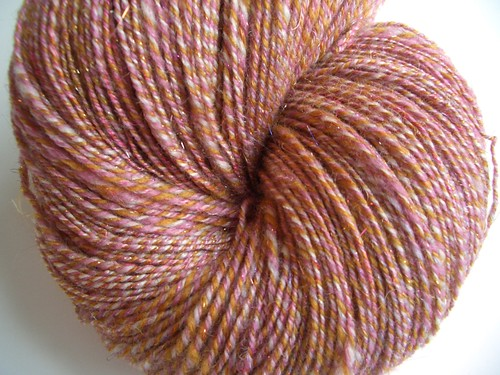 Roses in the Snow-3-ply-565yds-3-25 WPI